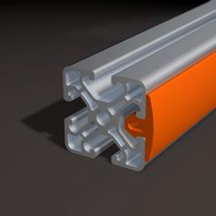 Virtuelles Produktbeispiel Alluminium Rundprofile